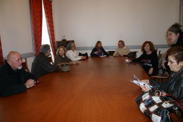 Reunión en la Cámara de Horta